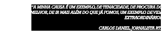 Testemunho Carlos Daniel