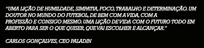Testemunho Carlos Gonçalves